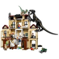 Jurassic World 2 Dinosaur Indoraptor Rampage at Lockwood Estate Building Block Bricks Toys Compatible with Lego Dinosaurs 75930