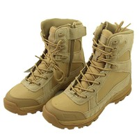 High Quality Genuine Leather Tactical Men's Working Combat Boots Hunting Military Tactical Hiking Botas