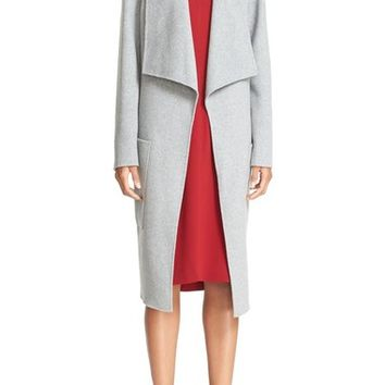 JOSEPH 'New Live' Double Face Wool & Cashmere Wrap Coat | Nordstrom