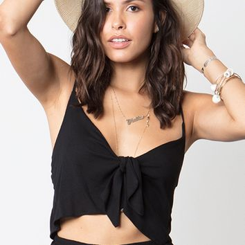 STILLWATER | Alexa Top - Black