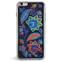 Bohemia Blue Embroidered iPhone 6/6S PLUS Case
