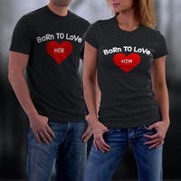 CoupleS T shirt, Cute Funny Couple Shirts, Matching Shirts, His and Her Shirts, Wedding Anniversary Gift