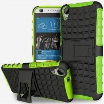 HTC Desire Green & Black Case