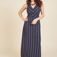 Best Budapest Maxi Dress in Navy