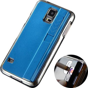 Fire / Lighter Case For Apple iPhone  (BLUE)