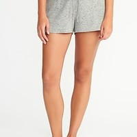Plush Jersey Lounge Shorts for Women|old-navy