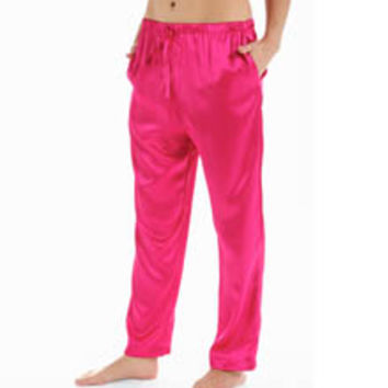 Shadowline 4500 Charming Charmeuse Sleep Pant