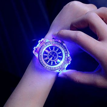 LED Sport Women Quartz Watches