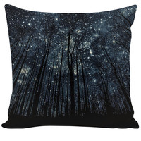 Starry Forest (Couch Pillow)