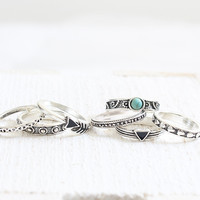 Arrow Ring Set