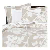 Marimekko?- Madison Taupe Bed Linens | Crate&Barrel