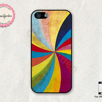 Colorful Strip iPhone 5 Case, iPhone 5s Case, iPhone Case, iPhone Hard Case, iPhone 5 Cover, iPhone 5s Cover
