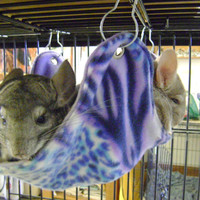 MTO Guinea Pig/ Rat/ Chinchilla 2 Layer Fleece Hammock - OVER 70 FABRICS to Choose From