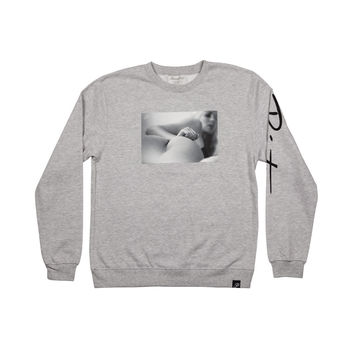 CHEEKY CREWNECK - ATHLETIC HEATHER