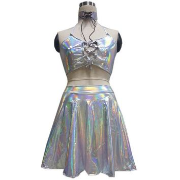 Holographic Festival Holosexual Outfit