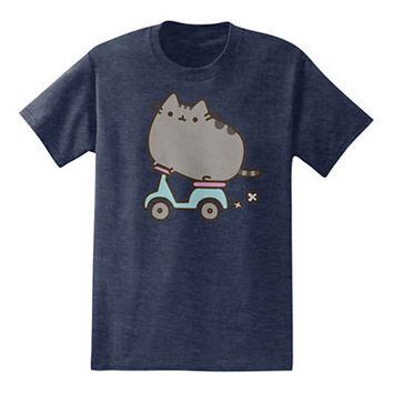 Scootin Pusheen the Cat T-Shirt