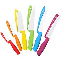 Chef's Choice Colorful Professional 12 Piece Knife Set By Cooler Kitchen