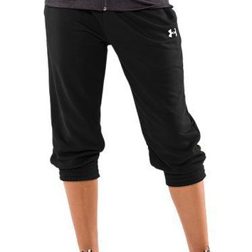 Women's Varsity Capri Pants | 1226430 | $29.99 | Under Armour USA