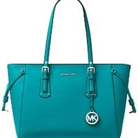 Michael Kors Voyager Multi-Function Top Zip Medium Tote Handbags & Accessories - Macy's