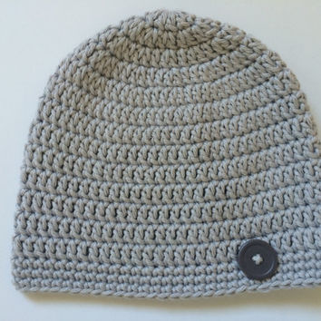 Cotton Baby Beanie Hat - Custom Color and Size - Cute as a Button