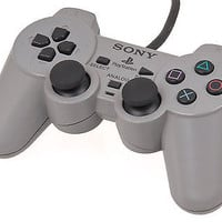 Official Sony Playstation 1 Grey Controller Gamepad PS1 Dual Shock (SCPH-1200)