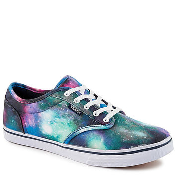 BLUE VANS Womens Atwood Low Cosmic Galaxy