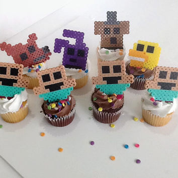 Five Nights at Freddys Cupcake Toppers