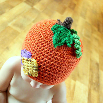 Instant Download  Crochet Pattern  Lil'Pumpkin Patch by Mamachee