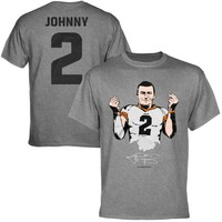 Johnny Manziel Cleveland Browns Money Manziel T-Shirt - Gray