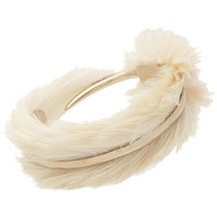 Nina Ricci Feather Cuff at Barneys.com
