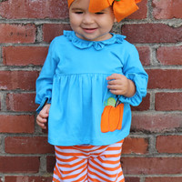 Pumpkin Patch Ruffle Set