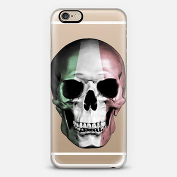 Italian Skull - Transparent iPhone 6s case by Nicklas Gustafsson | Casetify