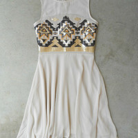 Shimmering River Dress