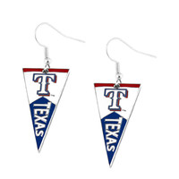Texas Rangers Pennant Earrings