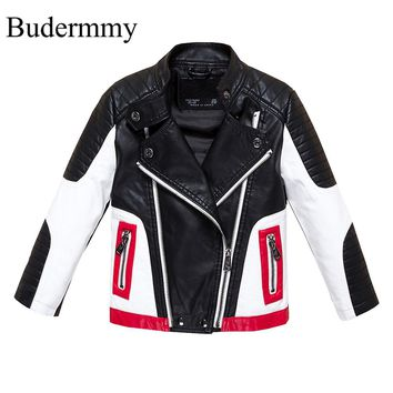 Boys Faux Leather Jackets for Boys and Girls Ages 2-12 Years