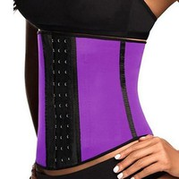 Fast Shipping Waist Trainer Tummy Control Corset Body Shaper Fat Burning Weight Loss Slim Belt