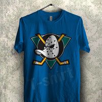 Anaheim Mighty Ducks tee - 1nyy Unisex T- Shirt For Man And Woman / T-Shirt / Custom T-Shirt / Tee / Tees / T-Shirts