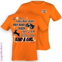 Simply Southern Funny Camo Deer Hunt Sweet Girlie Bright T Shirt