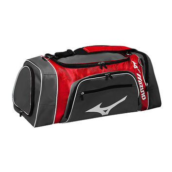 Mizuno Mizuno Lightning Duffle - Gray Red