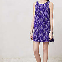 Anthropologie - Petal Stamp Dress