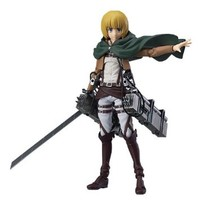 Good Smile Attack on Titan: Armin Arlert Figma Action Figure by Max Factory