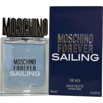 Fragrance MEN MOSCHINO FOREVER SAILING by Moschino EDT SPRAY 3.4 OZ 2013