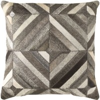 Lycaon Throw Pillow Neutral, Brown