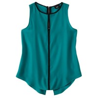 Mossimo® Women's Sleeveless Keyhole Blouse -Emerald Green