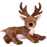 Ty Beanie Babies - Roxie (Black Nose) the Reindeer