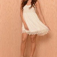 Summer Love Dress - Ivory