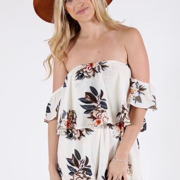 Floral Fields Romper