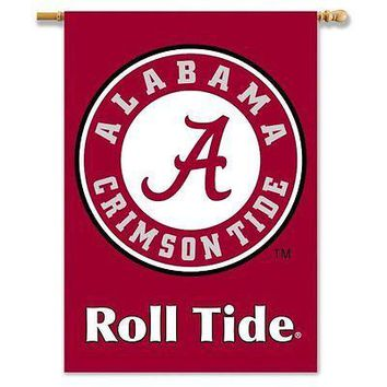 Alabama Crimson Tide 96402 Roll Tide 28x40 2-sided Banner Flag University of