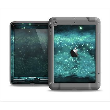 The Trendy Green Space Surface Apple iPad Mini LifeProof Nuud Case Skin Set
