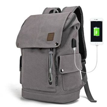 Canvas Backpack - Unisex